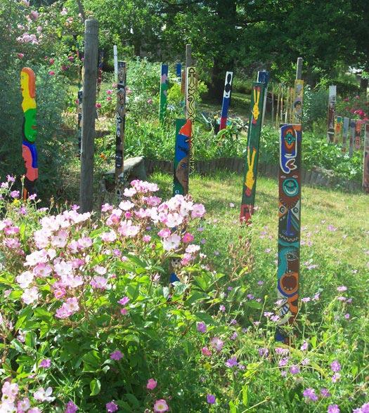 Le jardin des plantes à couleurs