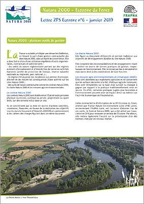 Lettre d'info ZPS Ecozone 2019