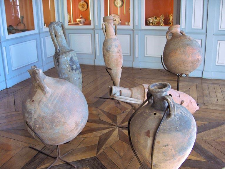 Poteries du musée archéologique