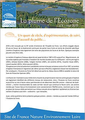Plume de l'Ecozone 2019