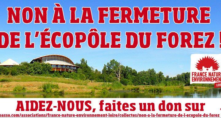 Campagne de dons pour l'Ecopôle du Forez